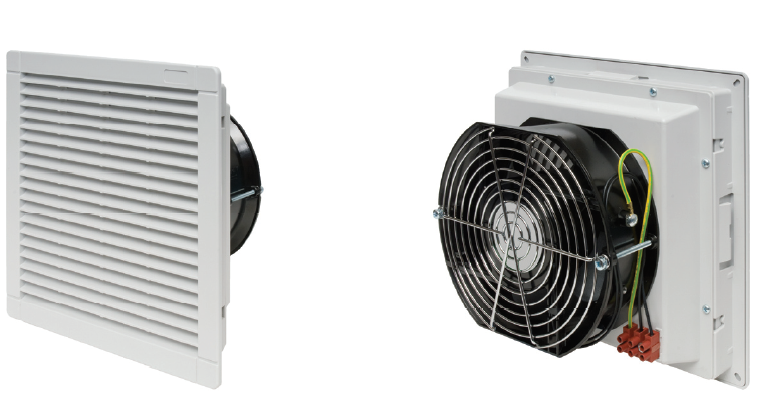 Electrical Exhaust Ventilation : Filter fan alfa bpmb electric